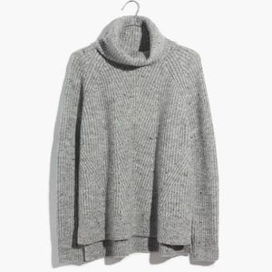 NEW Madewell Donegal Mercer Turtleneck Sweater